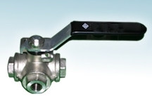 Three Ways Brass Ball Valve