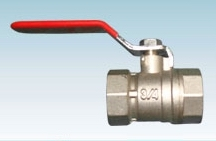 Brass Ball Valve With Nickle Plated
