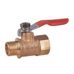 Forged Brass Female and Male Thread Ball Valves