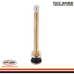 TR573 tire valves brass
