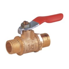 forged brass male threaded mini ball valves