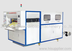 Automatic indentation roll paper die-cutting machine