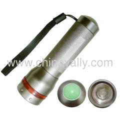 Multifunction led tactical flashlight