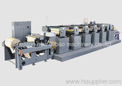 DB-1000 Four Colors Flexographic Printing Machine