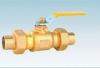 Brass Gas Ball Valve With Union
