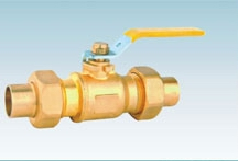 Brass Gas Ball Valve With Union