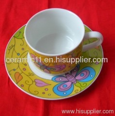 beauty decal cup