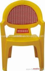 Plastic children's chair mould