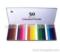 12 & 24 colors wooden color pencil stationery kit