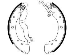 VOLKSWAGEN brake shoes sets