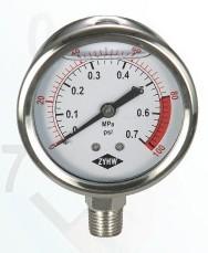 Aseismatic Pressure Gauge