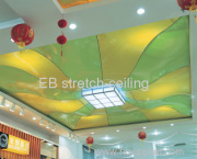 What is a stretch ceiling?