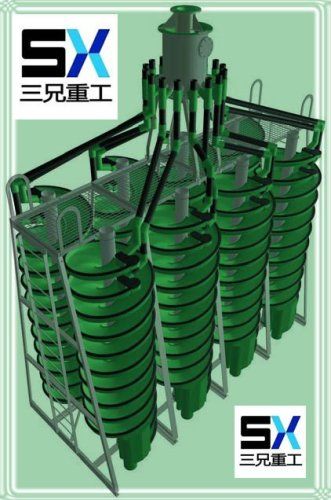 corrosion resistant spiral concentrator