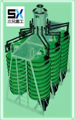 high recovery spiral separator