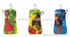 foldable bag water bag water bottle