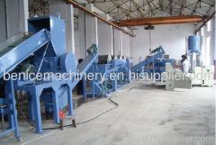 PP film crushing and washing making machine line