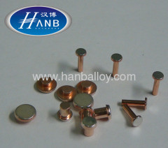 Electrical bimetal rivet for Air-condition