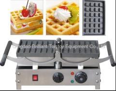 high quality rectangel waffle machines