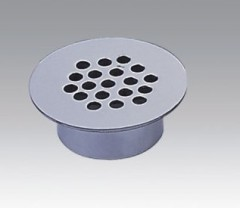 Brass Chrome Plated Drain With Small Holes