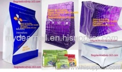 CANDY BAG, STAND POUCH, FLAT BOTTOM POUCH, SOUP POUCH, SIDE GUSSET POUCH