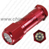 9 Led Flashlight Aluminium Flashlight