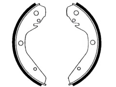 VOLKSWAGEN 1500 brake shoes rear Size