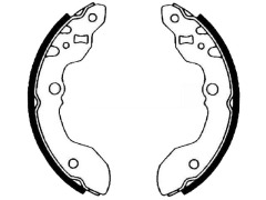 rear brake shoe sets size mm