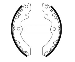 SUZUKI SJ 410 rear brake shoes