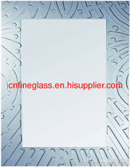 silk screened printed mirror