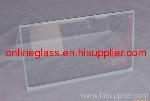 silk screened patterned glass