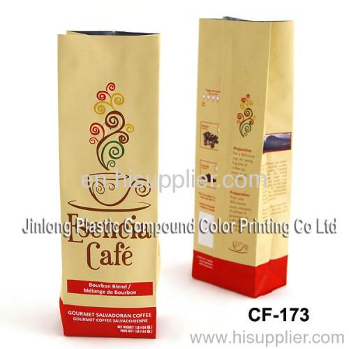 china coffee bag with valve
