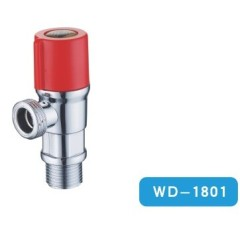 ABS Angle Valve With Chrome Plated