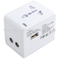Worldwide Adapter with Dual USB Charger