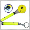 led logo projection keychain torch for promotion gift