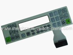 LCD/LED window membrane switches