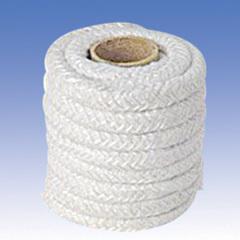 Heat resistant ceramic fiber rope