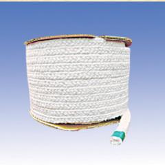 Ceramic fiber rope wight fiber glass reinforced