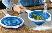 Collapsible Strainers and Colanders