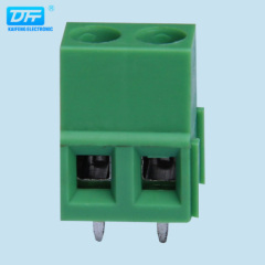 Screw Terminal Block: 2-Pin, 5 .08mm Pitch, Top Entry (2-pack) 24-12awg