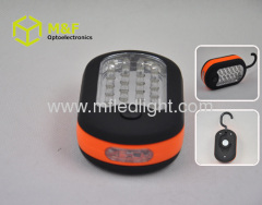 magnetic led work light with hook