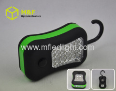 work light with magnet & hook