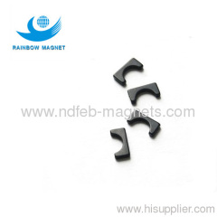 Sintered NdFeB arc magnets.Super strong permanent magnet