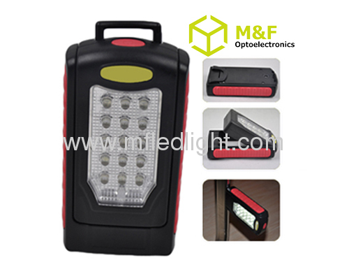 rechargeable led work light with magnet and hook