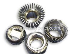 Batch processing metal parts