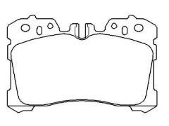 brake pad sets LEXUS