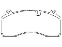 RENAULT brake pad sets