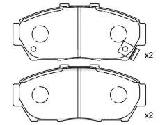 Front Brake Pad Set HONDA 45022-ST7-000