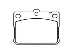 04491-12141 TOYOTA Front Brake Pad Set