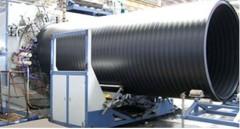 PE large diameter winding pipe extrusion line