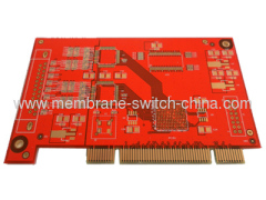red golder finger PCB